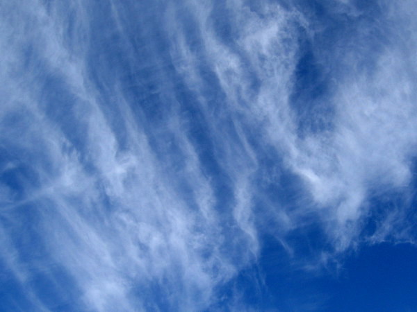 Why do clouds make the spirit soar?